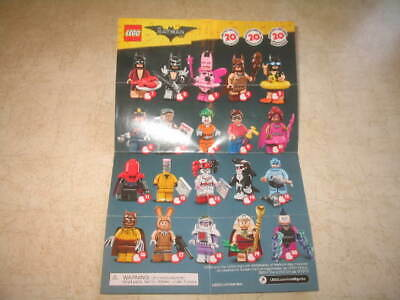 New Lego Batman Movie Series 71017 Minifigures - PICK YOUR MINIFIGURES **READ**