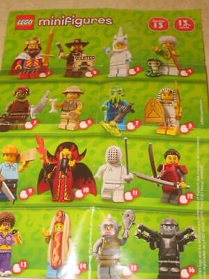 New Lego 71008 Minifigures Series 13 - PICK YOUR MINIFIGURES **READ**