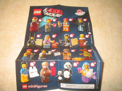 New The Lego Movie Series 71004 Minifigures - PICK YOUR MINIFIGURES **READ**