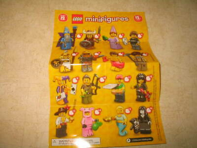 New Lego 71007 Minifigures Series 12 - PICK YOUR MINIFIGURES **READ**