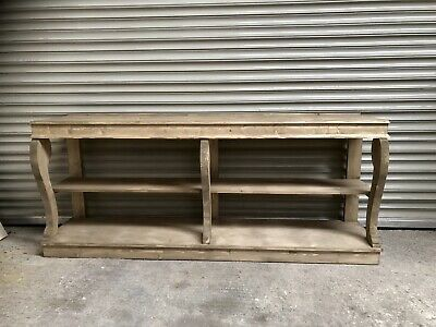 Stunning Large French Vintage Console Table Restoration Hardware Inspired