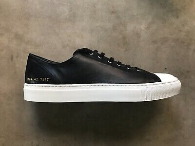 2085ba001ebb COMMON PROJECTS TOURNAMENT low cap toe in leather black 42 - $289.00 ...