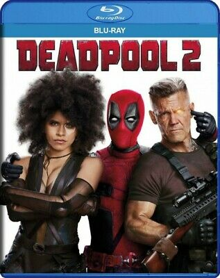 Deadpool 2 (Blu-ray+Digital Code) NEW