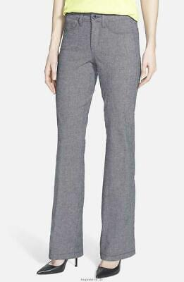 NWT NYDJ Not Your Daughters Jeans GANACHE Embroidered Pocket Bootcut Pants