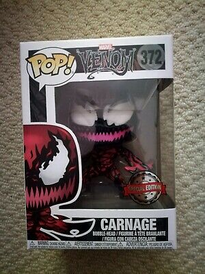 Funko Pop! Vinyl - Carnage - Marvel Venom Axe Hands Exclusive #372
