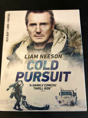 Cold Pursuit (Blu Ray+DVD+Digital) New with SLIP