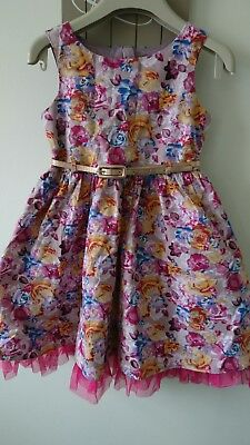 Next girl summer party holiday ocassion dress 4 years great condition