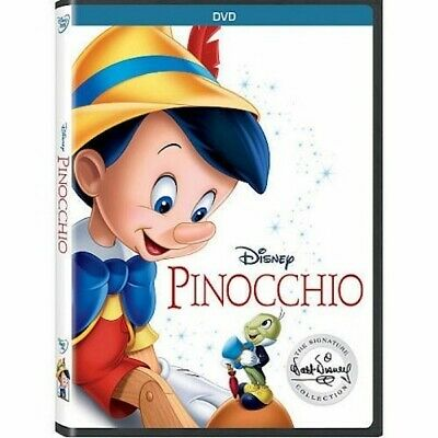 Pinocchio DVD New & Sealed comes with Slipcover Free Shipping included!
