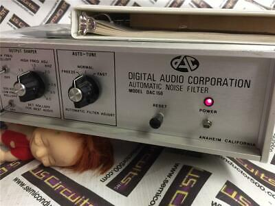 Digital Audio Corporation Model DAC150 Automatic Noise Filter
