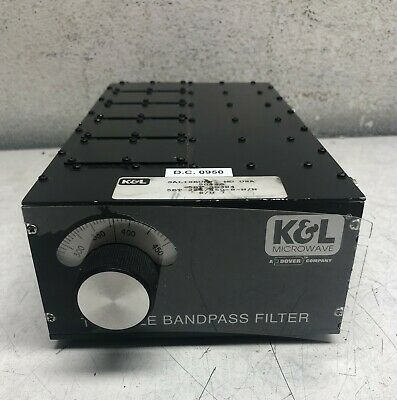 K&L Microwave Tunable Bandpass Filter 5Bt-225/450-8-N/N