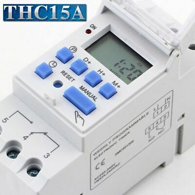Electronic Business Programmable LCD Digital Time Control Relay Switch Timer