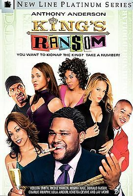 King's Ransom (DVD, 2005) - Includes Insert - Anthony Anderson - Jay Mohr