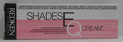 REDKEN SHADES EQ CREAM ~ CONDITIONING EQUALIZING HAIR COLOR CREAM ~ 2.1 oz!!