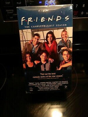 Friends - The Complete First Season 4 VHS Set, NEW & SEALED
