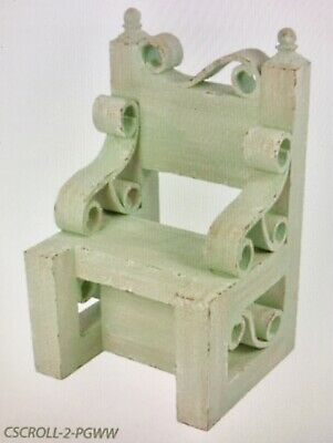NEW Denny Manufacturing Child's Scroll Chair Photography Prop