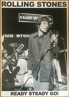 The Rolling Stones Ready Steady Go Poster BBC 23 x 33