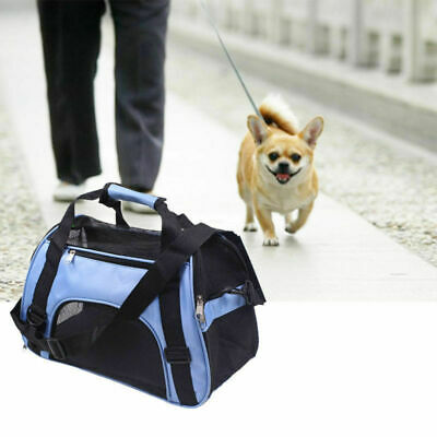 Pet Dog Cat Rabbit Portable Travel Carrier Tote Cage Bag Crate Kennel New