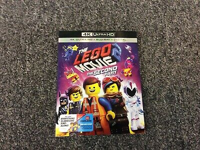 The Lego Movie 2 The Second Part 4K Ultra Hd / Blu Ray / Digital