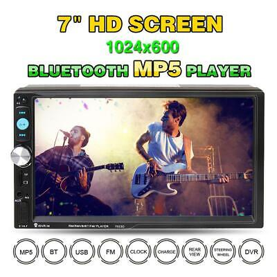 7inch HD 2Din Touch Screen Car Stereo MP5 MP3 Player Radio Android IOS USB/TF FM