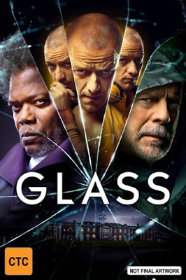 Glass Bruce Willis Samuel L Jackson 2019 BRAND NEW Region 4 DVD IN STOCK NOW