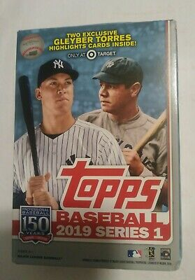 67 cards! 2019 Topps Baseball Series 1 Factory Sealed 9 Pack Exclusive Value Box