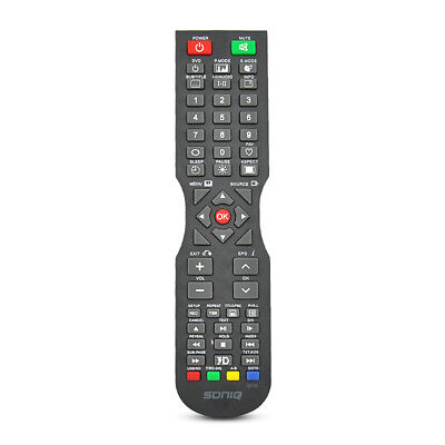 SONIQ QT166 QT155 QT155S Remote Control - NO SETUP NEEDED Geunine