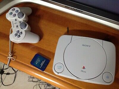 Sony Playstation One  Psone Sp1 Slim Console Game Scph-101