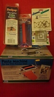 AMACO Craft Pasta Machine Polymer Clay New in box