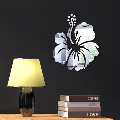 1PC Flower Acrylic Wall Sticker Creative Background Bedroom Wall Household Decal