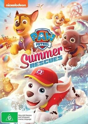Paw Patrol - Summer Rescues (DVD, 2019, Region 4) Nickelodeon BRAND NEW