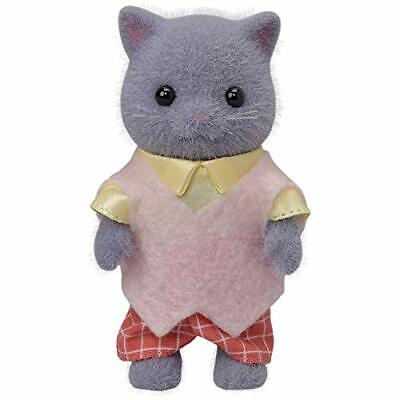 Father Of Sylvanian Families Doll Persian Cat Two -103