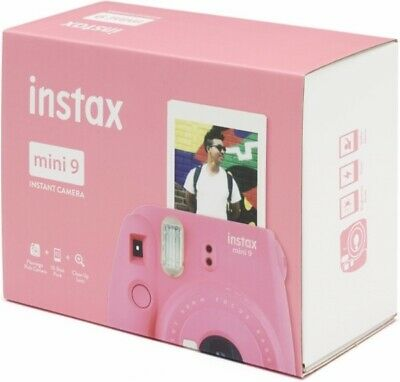 Fujifilm Instax Mini 9 Flamingo Pink Instant Color Film Camera