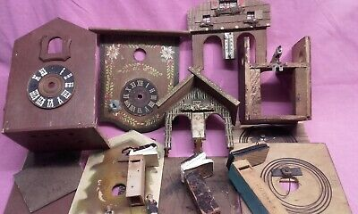 Vintage Cuckoo Clock Spares Repair Only