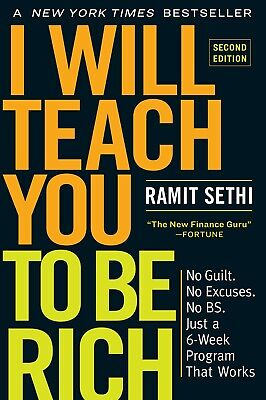 I Will Teach You to Be Rich Second Edition by Ramit Sethi Paperback TOP SELLING