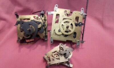 Cuckoo Clock movements [1] Mayak Russian [2]black forest spares or repairs