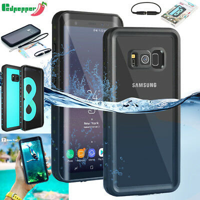 For Samsung Galaxy S8 S8 Plus Waterproof Anti-oil Dirt Shockproof Case Cover AU