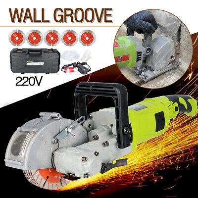 220V Electric Wall Chaser Groove Cutting Machine Wall Slotting Machine 33MM US