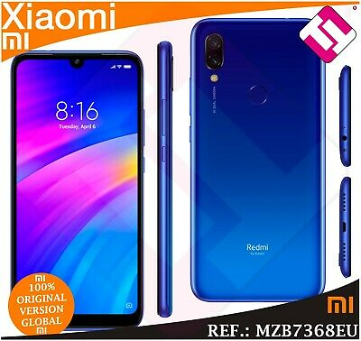 Telefono Movil Xiaomi Redmi 7 Blue 32Gb Rom 3Gb Ram Smartphone Version Global