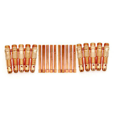 20pcs/set TIG Welding Torch Accessories Kit Collets Body for TIG WP-17 18 26