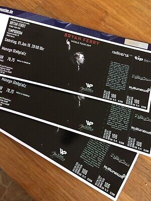 Tickets  Bryan Ferry, 1.Juni, Berlin, Stehplatz