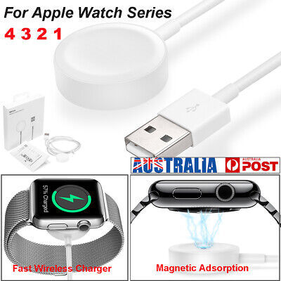 For Apple Watch Series 4/3/2/1 Wireless Charger Magnetic Charging Cable Dock