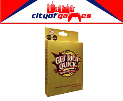 Get Rich Quick (Formally Billionaire) Card Game Brand New