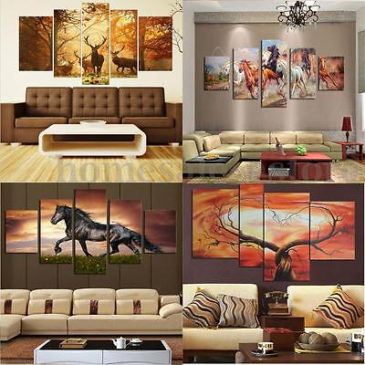 Large Canvas Huge Modern Home Wall Decor Art Oil Painting Picture Print No