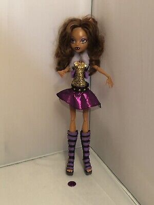 Monster High Dolls - Clawdeen Wolf Ghouls Alive