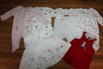Mothercare Bluezoo Jasper Con girls bundle 0-3 months *I'll combine postage*(38)