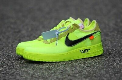 air force 1 x off white fluo