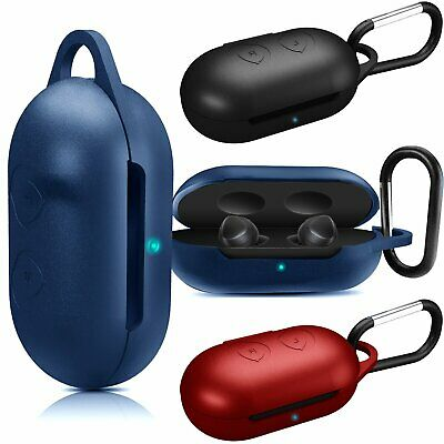Silicone Protective Case Cover Carabiner For Samsung Galaxy Buds 2019 Earphone