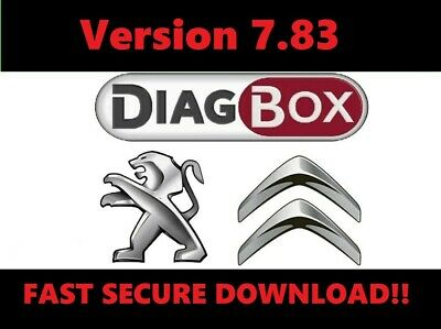Diagbox 7.83✔Main Dealer Diagnostic Software✔Peugeot✔Citroen✔Download✔