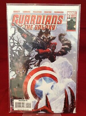 Guardians Of The Galaxy #2 2008 Marvel Comics Rocket and Groot Abnett Lanning