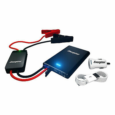 Energizer Car Jump Starter & Portable  Power Bank- Charger-Laptop-Phone-Tablet